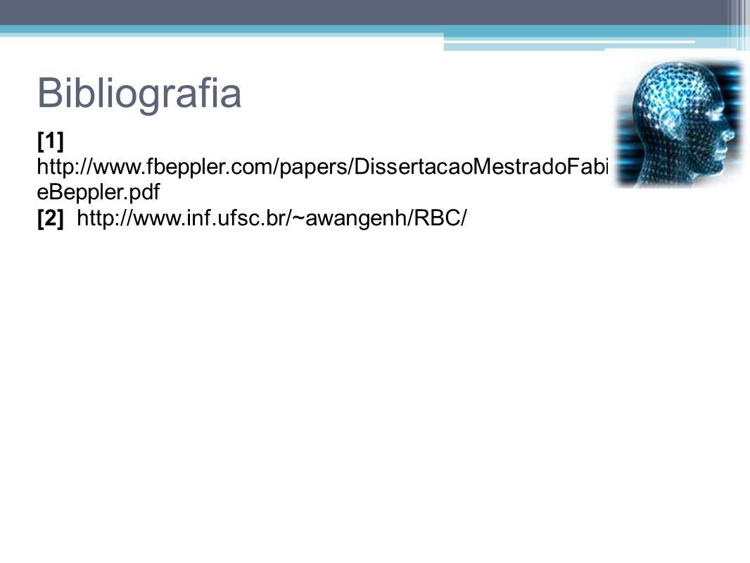 Bibliografia [1] http://www.fbeppler.com/papers/DissertacaoMestradoFabianoDuarteBeppler.pdf.